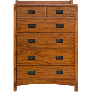 Mission Hill 6 drawer chest