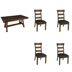 Ozark 5PC Trestle Dining Set