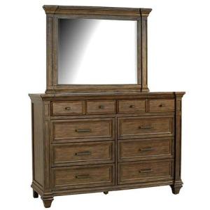 Gallatin Dresser & Mirror