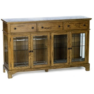 Laurelhurst Wide Buffet - Rustic Oak