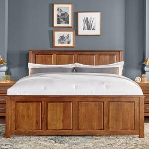 Camas Queen Panel Bed