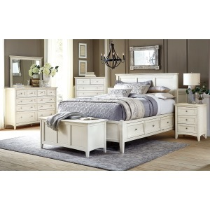 Northlake 4 PC Queen Storage Bedroom Set