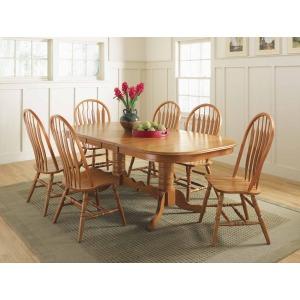British Isles Butterfly Trestle Table - Cinnamon