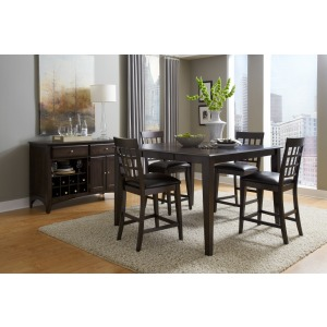 Bristol Point 5 PC Gathering Dining Set