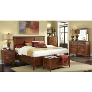 Westlake Bedroom Set -- E. King Storage Bed