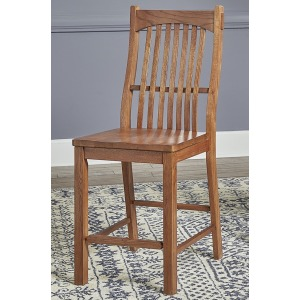 Laurelhurst Slatback Counter Stool