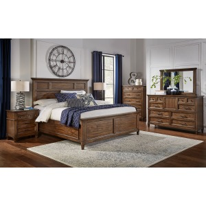 Harborside Queen Panel Bed