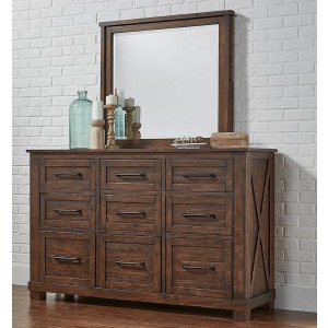 Sun Valley RT Dresser & Mirror
