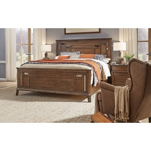 Filson Creek King Panel Bed