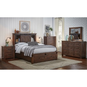 Sun Valley RT 5PC King Storage Bedroom Set