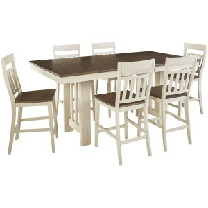 Bremerton 7 PC Gather Height Dining Set