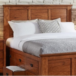 MISSION HILL KING CAPTION HEADBOARD