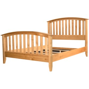 E King Slat Bed