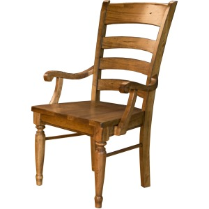 Wood Arm Chair