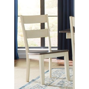 MARIPOSA COCOACHALK LADDERBAC CHAIR