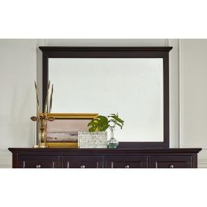 Westlake Dark Mahogany Master Mirror