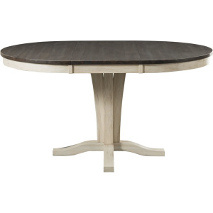 HURON COCOA CHAULK DINING TABLE