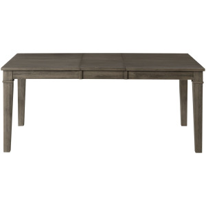 HURON GREY LEG TABLE