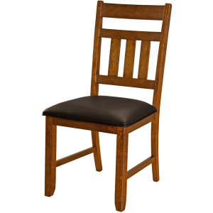 Mason Slatback Uph Side Chair