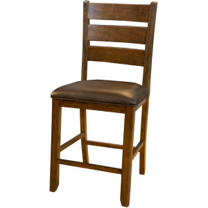 Mason Ldrbk Uph Counter Stool