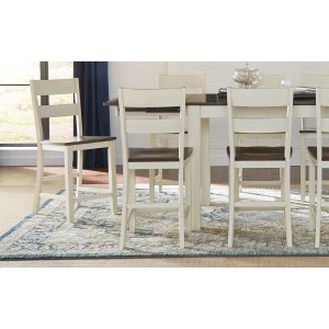 Mariposa Ladderback Counter Stool