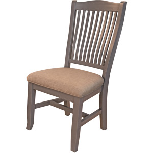 Port Townsend Slatback Side Chair - Upholstered Seat