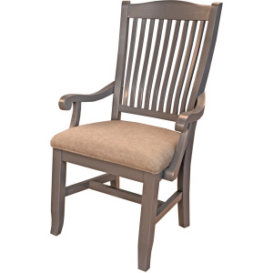 Port Townsend Slatback Arm Chair - Uph Seat