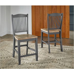 Port Townsend Slatback Counter Stool