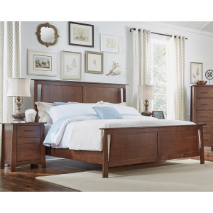 Sodo Queen Panel Bed
