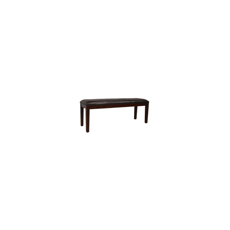 Parson Chairs Bench - Brown