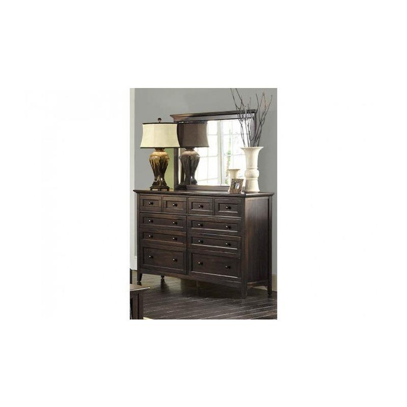Westlake Dark Mahogany Master Dresser