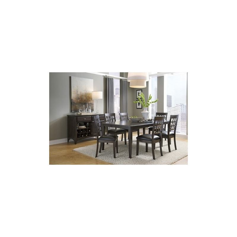 Bristol Point - Warm Gray Leg Table