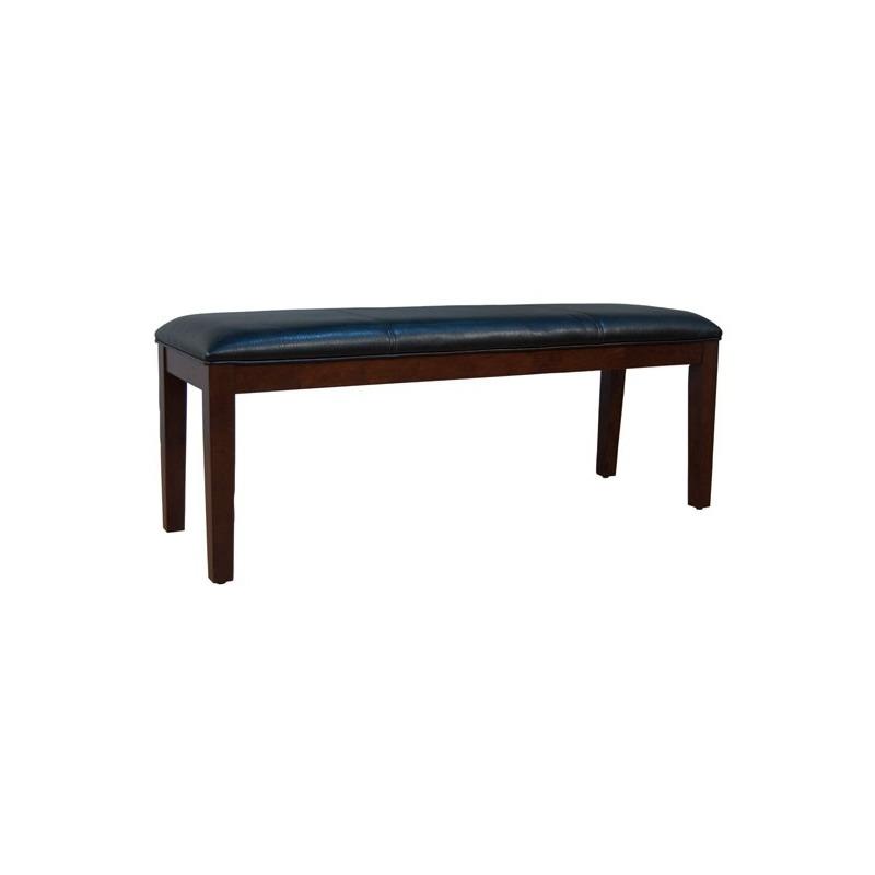 Parson Chairs Bench - Black