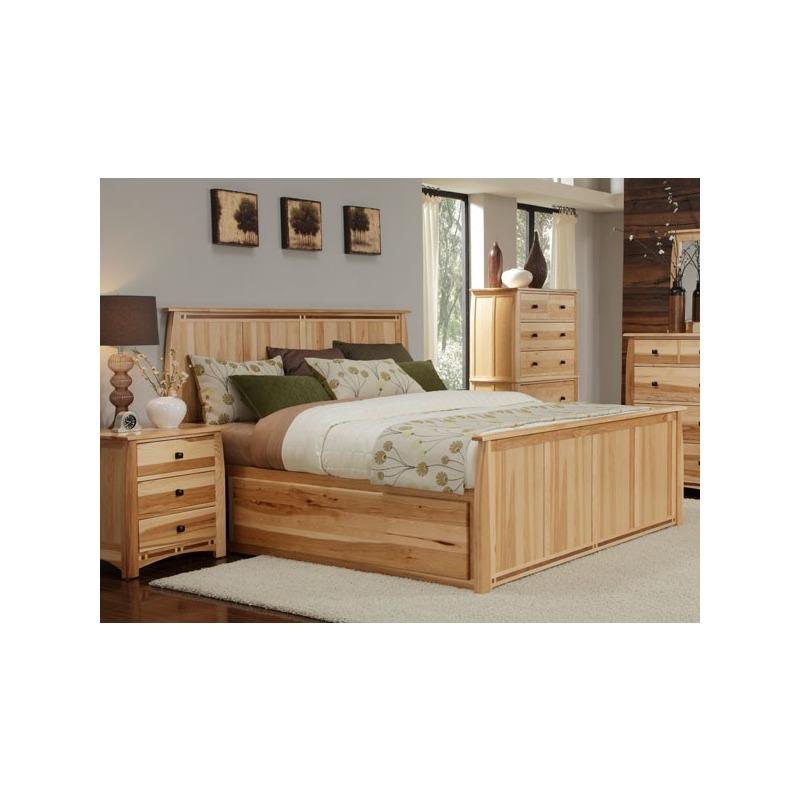 Adamstown Queen Panel Bed with Storage