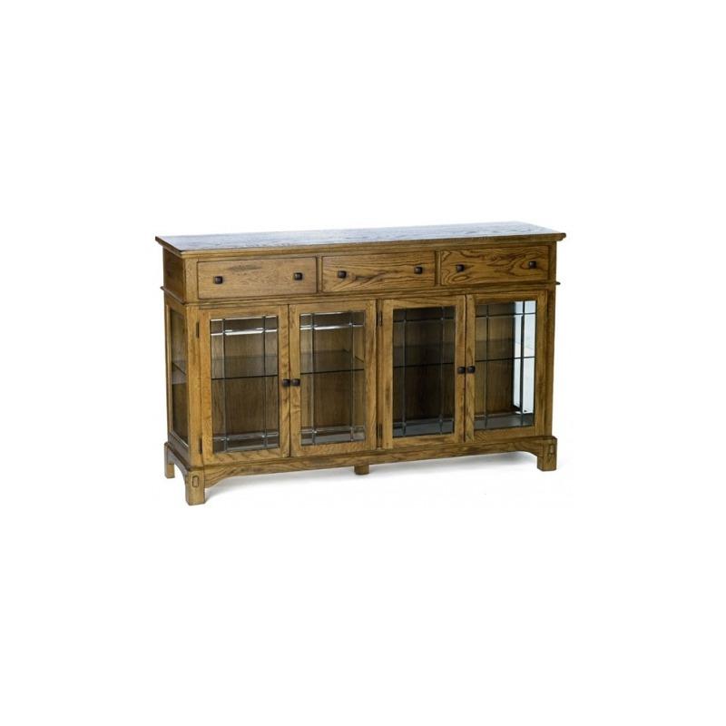 Laurelhurst Wide Buffet - Rustic Oak
