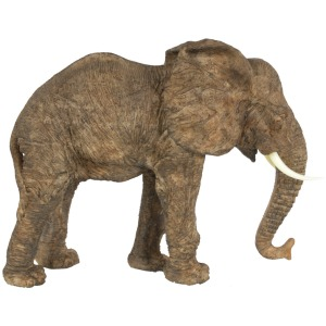 "13x5x10"" Polyresin Elephant Figurine 4EA/CTN"
