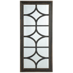 Rectangular Mirror,Black
