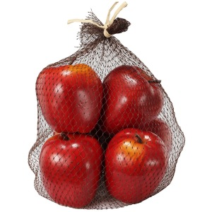 Faux Red Apples