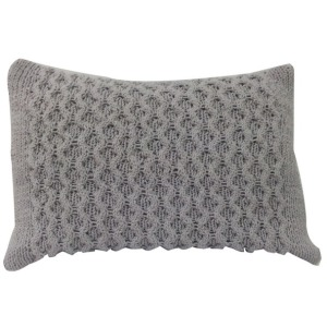 Knit Pillow - Taupe