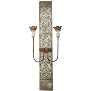 Two-Light Wall Sconce, Electric