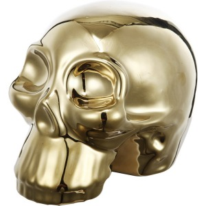 Ceramic Skull Decor