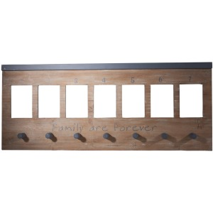 Wall Panel With Hooks