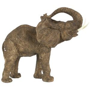"15x8x12"" Polyresin Elephant Figurine 2EA/CTN"