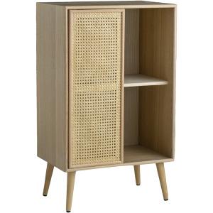Cabinet - Rattan & Light Wood