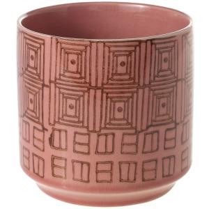 """Pepe Pink Pot - 4.5""""x 4.5"""""""