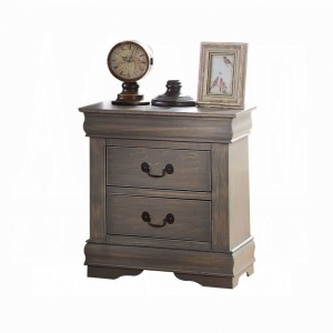 Louis Philippe Nightstand - Antique Gray