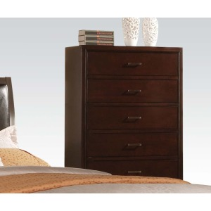 Tyler Contemporary Cappuccino Chest
