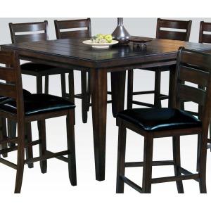 Urbana Espresso Counter Height Table