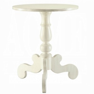 Freida End Table - Antique White