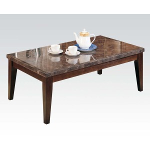 Danville Black Marble Coffee Table